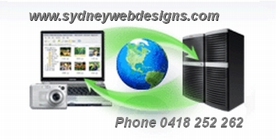 Sydney Website Designers, Web Site Design, Web Developers. Sydney Web Designs.